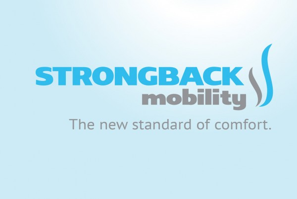 STRONGBACKmobility Header Logo and claim
